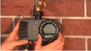 Orbit Hose Faucet Timer by Orbit Irrigation 1 Dial 2 Outlet Hose Faucet Timer