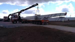 Trucks Mounted Cranes - Heavy Haulage
