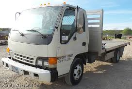 2004 Isuzu NPR Flatbed Truck | Item DB2463 | SOLD! April 12 ...