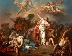 Apollo And Diana Attacking The Children Of Niobe Jacques Louis David