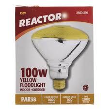 home hardware 100w yellow indoor outdoor par38 flood light bulb