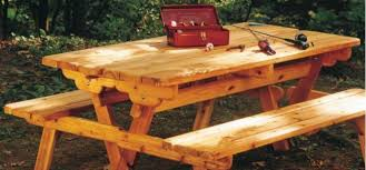 picnic table plans convert to benches woodwork city free