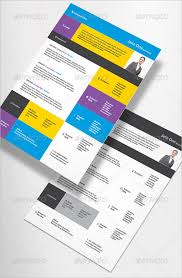 InDesign Contemporary Resume Template