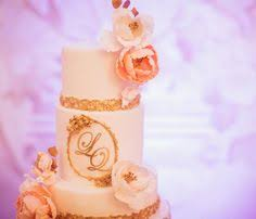 Awesome Vancouver Wedding PinkGold Royal Theme Cake I Created For LQ A Couple