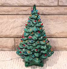 Plastic Bulbs For Ceramic Christmas Trees by Ceramic Light Up Christmas Tree Christmas Ideas