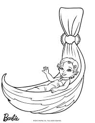 Merliah Baby Mermaid Coloring Pages Barbie Printable Color Online Print Pictures To Images Cartoons