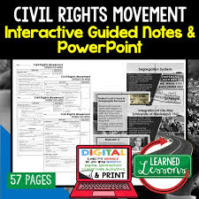 American History Guided Notes Interactive Notebook Note Taking PowerPoints Anticipatory Guides