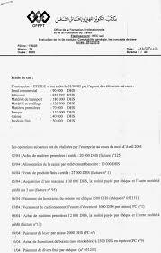 matériel de bureau comptabilité examen de fin de module de la comptabilité des concepts de base 1