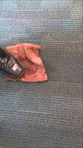 How Remove Paint From Carpet by Removing Red Spray Paint From Carpet Tiles Youtube