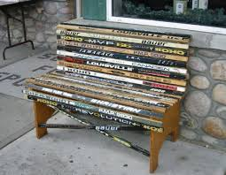 love hockey love this bench i should have saved all the broken