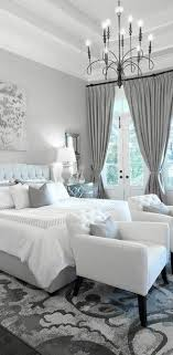 Awesome Gray Bedroom Design For Elegant Look