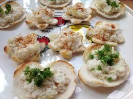 crab canapes devilled crab canapes goodfoodseeking