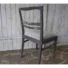 vintage stuhl 50er jahre polsterstuhl grau