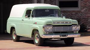 1959 Ford F100 Panel Truck Presented As Lot R223 At Kissimmee, FL ...