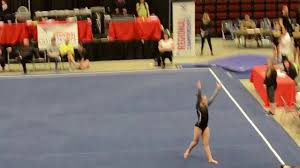 lauren hicks level 9 gymnastics floor routine regional