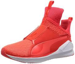 puma fierce engineered mesh women u0027s indoor multisport court shoes