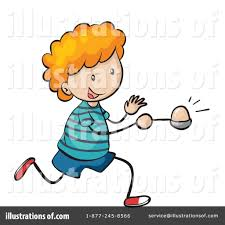Royalty Free RF Egg Race Clipart Illustration by Graphics RF Stock Sample