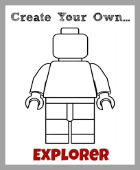 Free Printable Lego Coloring Pages Character Funycoloring