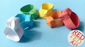 Origami Ring DIY Easy Paper