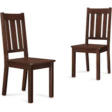 Upholstered Dining Chairs Set Of 6 by Better Homes And Gardens Bankston Dining Chairs Set Of 2 Mocha