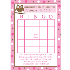 Baby Shower Bingo Cards Uk WeldingWelding