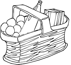 Pin Picnic Basket Clipart Black And White 5