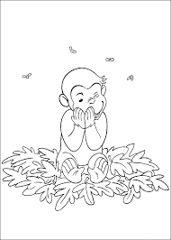 Free Curious George Coloring Pages To Print For Kids Download And Color
