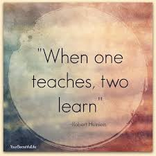 When One Teaches Two Learn