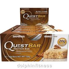 Quest Cinnamon Roll Bar 12 Bars