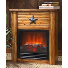 Image Of Ideas Rustic Electric Fireplaces