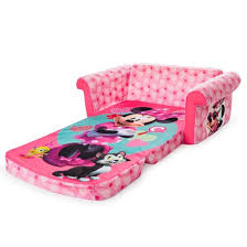 minnie mouse marshmallow 2 in 1 flip open kids sofa target