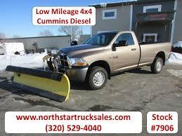 100 Dodge Truck Sales 2010 2500 Cummins 4x4 Plow Pickup St Cloud MN NorthStar