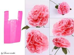 How To Make Beautiful Flowers Out Of Recycled Plastic Bag
