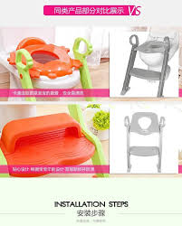 Frog Potty Seat With Step Ladder by Portable Ladder New Baby Toddler Potty Toilet Trainer Safety Seat