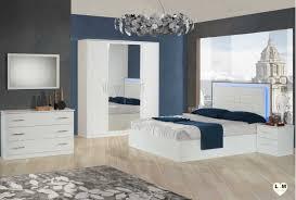 meuble chambre a coucher duban blanc composition ensemble meuble chambre a coucher