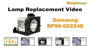samsung bp96 00224e l replacement guide for dlp tv
