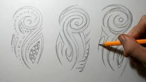 Tribal Half Sleeve Sketching