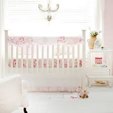 pink floral pink desert rose crib bedding set jack and jill