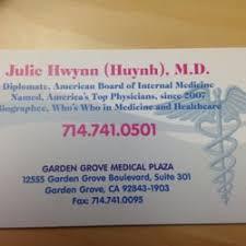 Julie Hwynn MD Internal Medicine Garden Grove Blvd