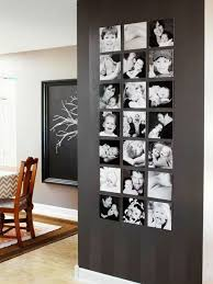 schwarz weisse fotos exakt zueinander angeordnet