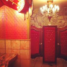 Madonna Inn Bathroom Waterfall by Wishi Washi Studio Madonna Dreaming