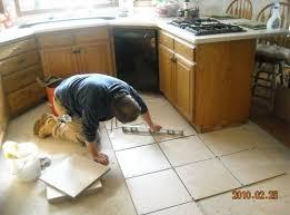 Kitchen Flooring Installation t8ls