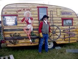 Retro Camper Rusty Cowboy
