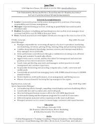 Retail Store Manager Resume Sample Awesome Collection Of For