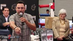 Oscar Dela Hoya Cross Dresser by Still The Peoples Champ Oscar De La Hoya Gives Back To The Garden