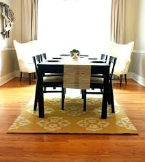 Dining Room Rug Size Rug Size Under Round Dining Table What Size Rug
