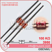MGD18 100K 1 3950 UL Diode NTC Variable Thermal Resistor Thermistor Of Temperature Measurement Cont