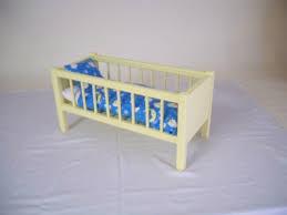 Wood Doll Bed Doll Bed American Doll Bed Doll Crib Girls