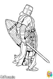 The Knights Coloring Pages Called Knight Templar To This Belongs Order Of Templars Soldiers And Very Popular Warriors In