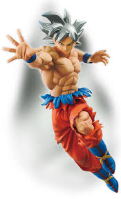Figure Banpresto Super Son Goku Ultra Instinct Dragon Ball 2
